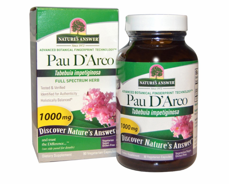 Nature's Answer, Кора муравьиного дерева, 1000 мг, 90 капсул.