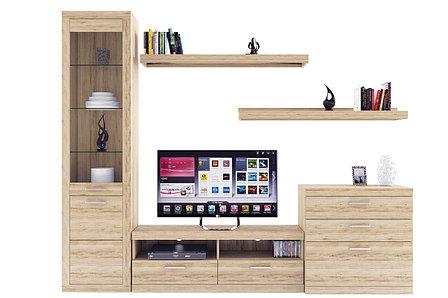 Комплект мебели для гостиной Оскар, Дуб Санремо, Анрэкс(Беларусь), фото 2