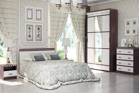 Комплект мебели для спальни Ольга 13, Ясень Анкор светлый, Фант Мебель(Россия), фото 2