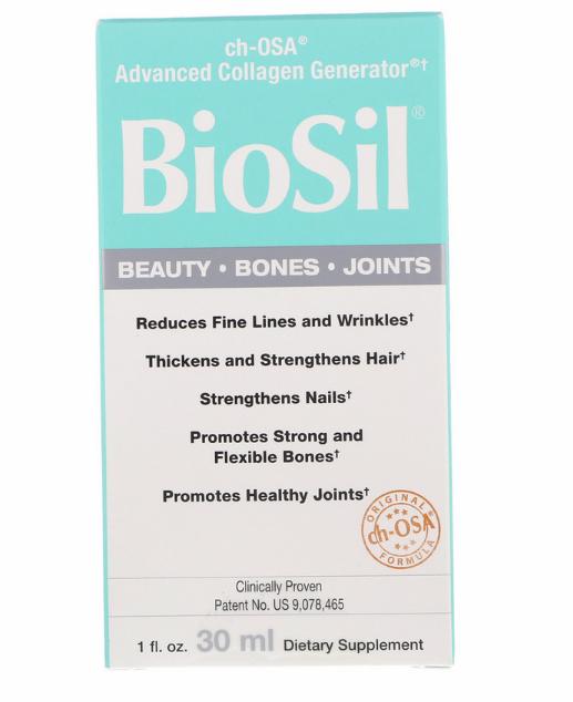 BioSil by Natural Factors, ch-OSA,улучшенный источник коллагена