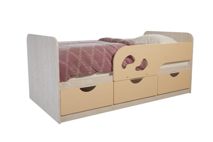 Кровать односпальная Лего, Крем, БТС (Россия), фото 2