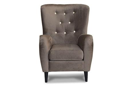 Кресло традиционное Мадрид 315, 642, коричневый (Velutto23, Velutto18, СМК (Россия), фото 2
