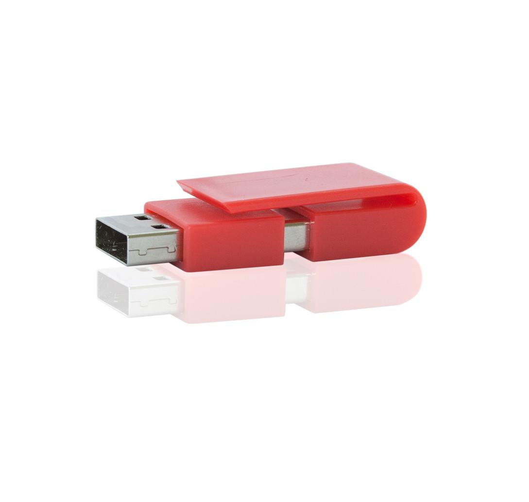 Флешка PL055 (красный) с чипом 4 гб