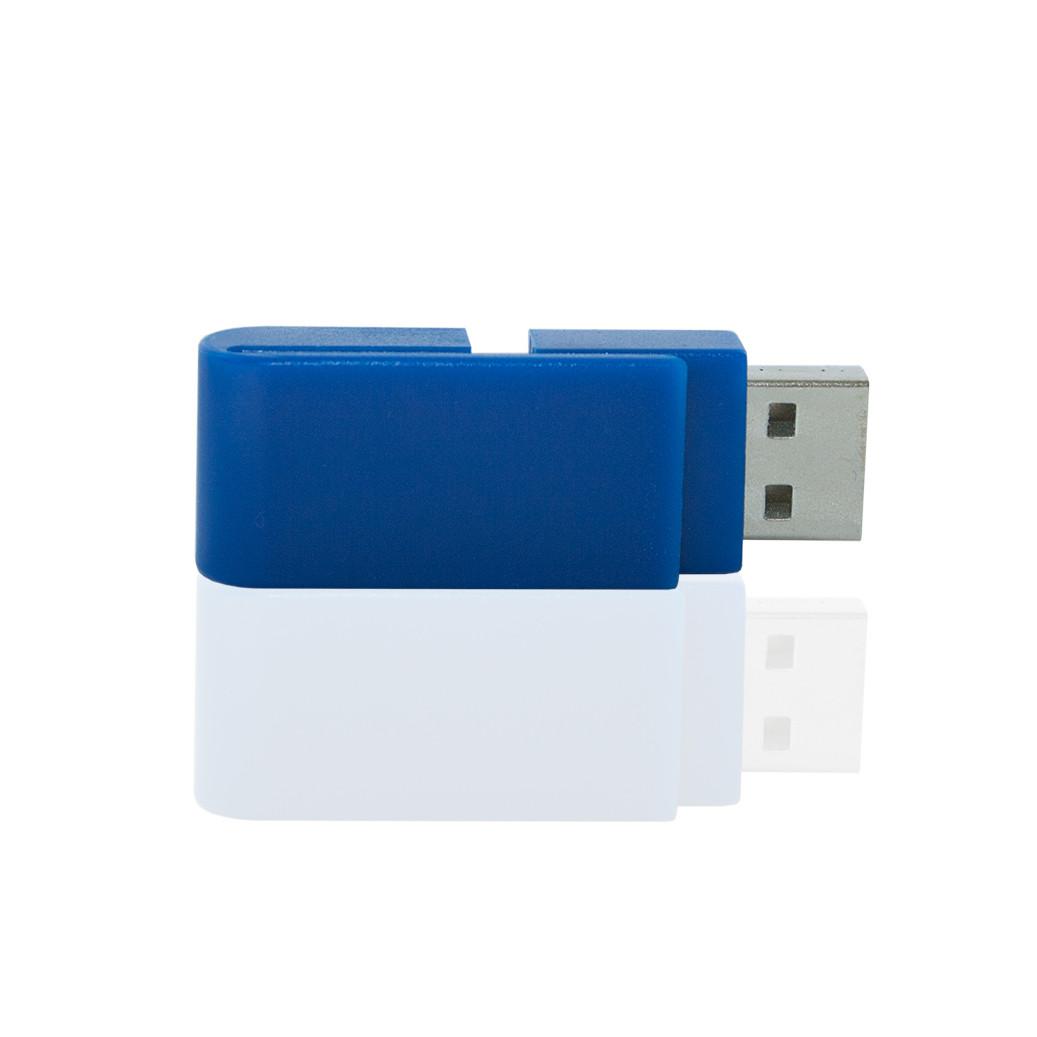 Флешка PL055 (синий) с чипом 32 гб