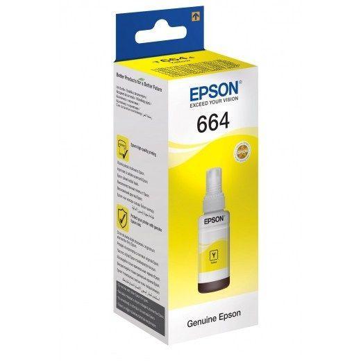 Чернила epson C13T66444A yellow