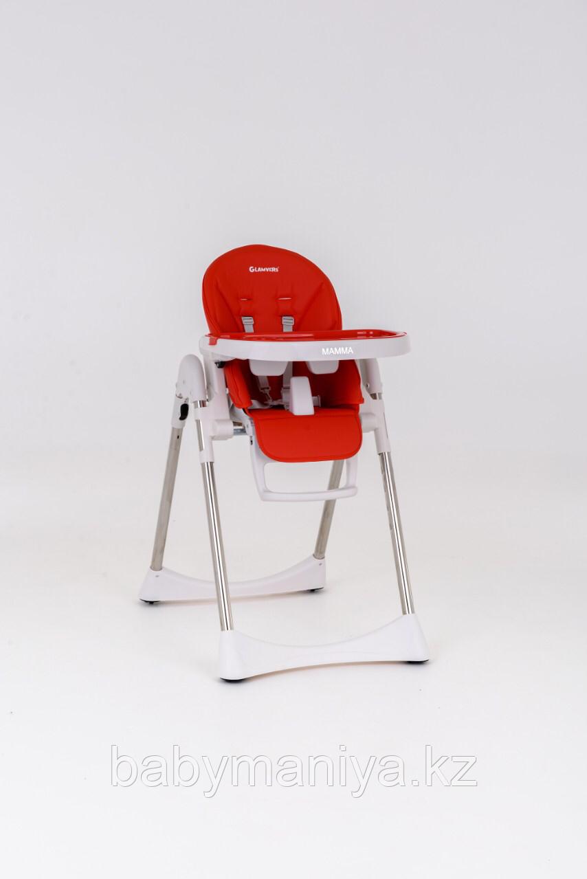 Стульчик для кормления Glamvers MAMMA Красный / Red