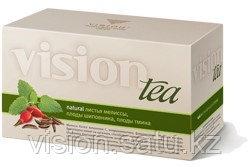 Купить Чай с мелиссой. Чай Vision Мелисса и шиповник