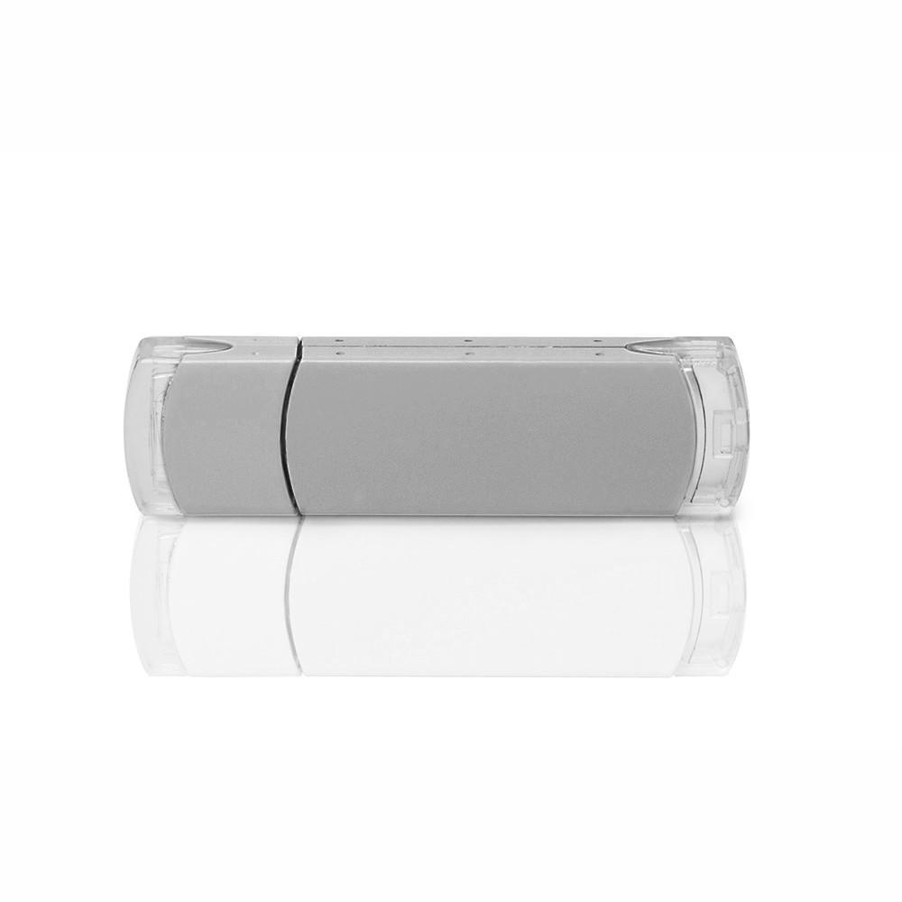 Флешка PM012 (серебро) с чипом 64 гб
