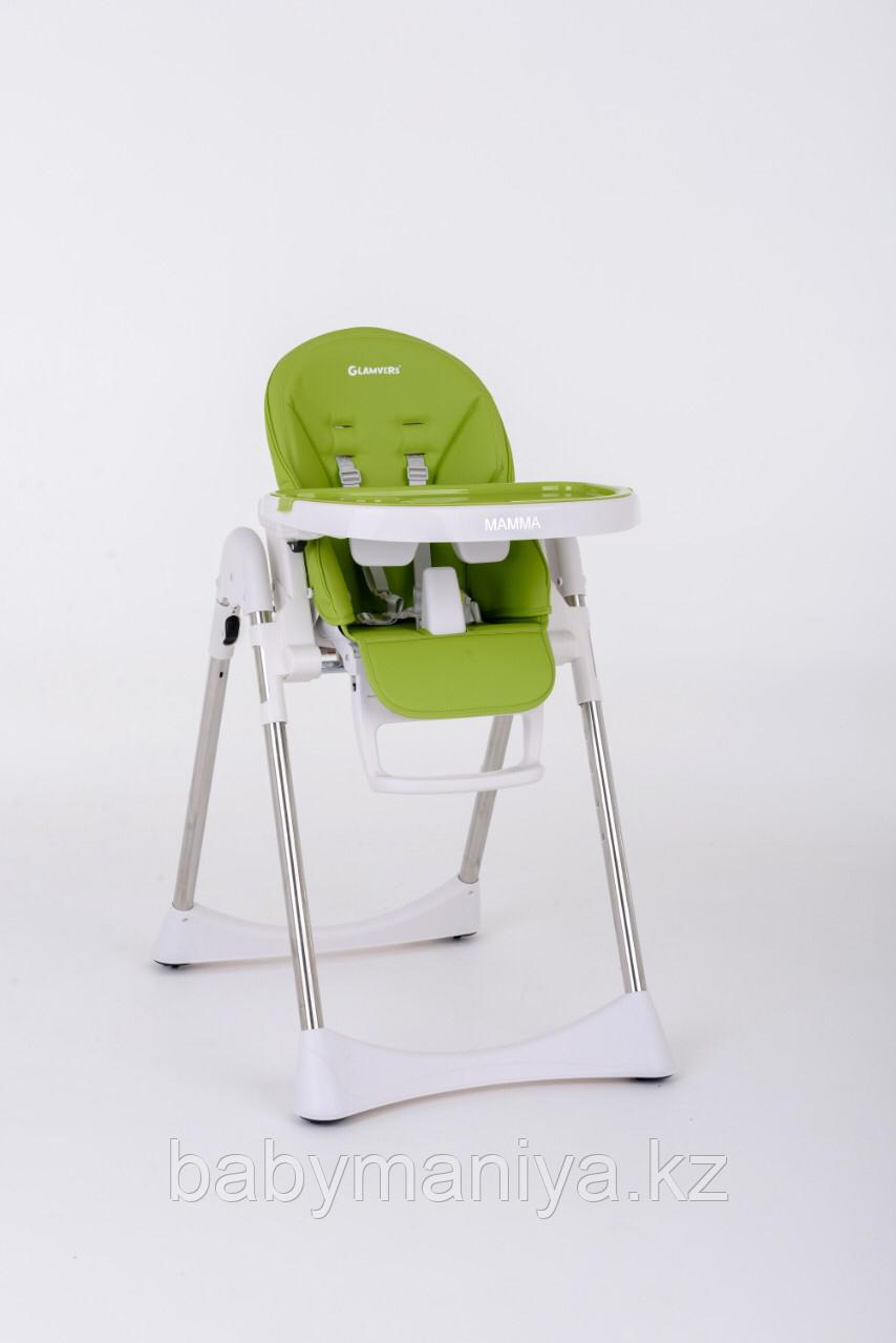 Стульчик для кормления Glamvers MAMMA Зеленый /  Green