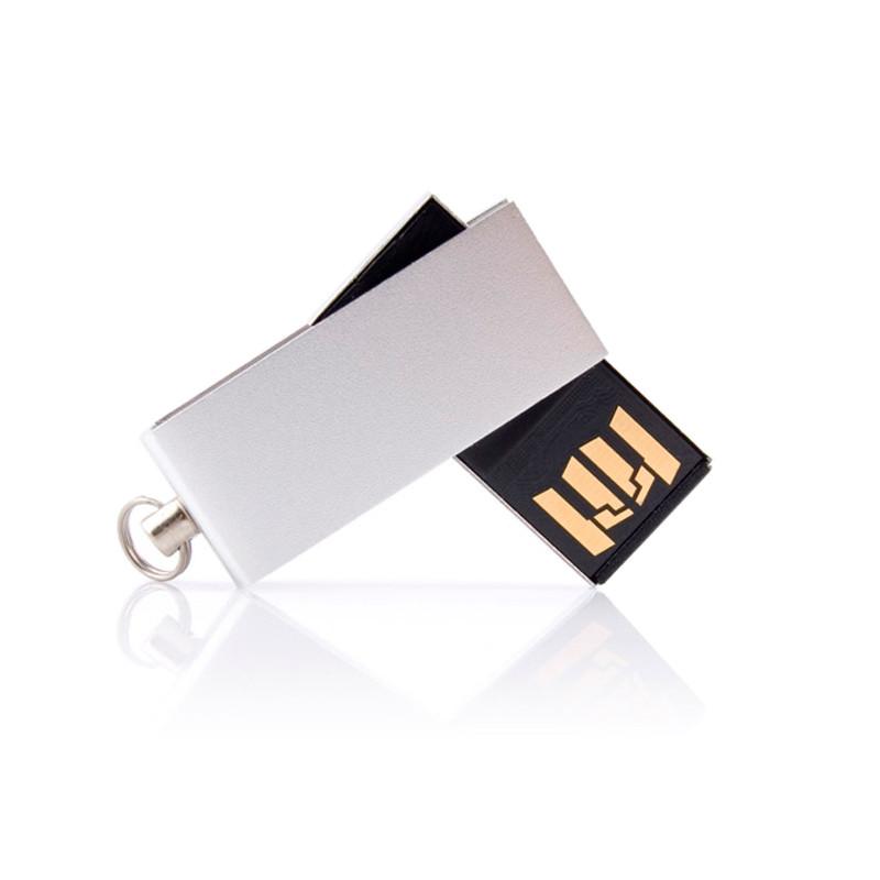 Флешка MN002 (серебро) с чипом 16 гб