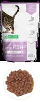 Влажный корм для кошек Nature's Protection with Fish Intestinal Health  с рыбой (паучи)
