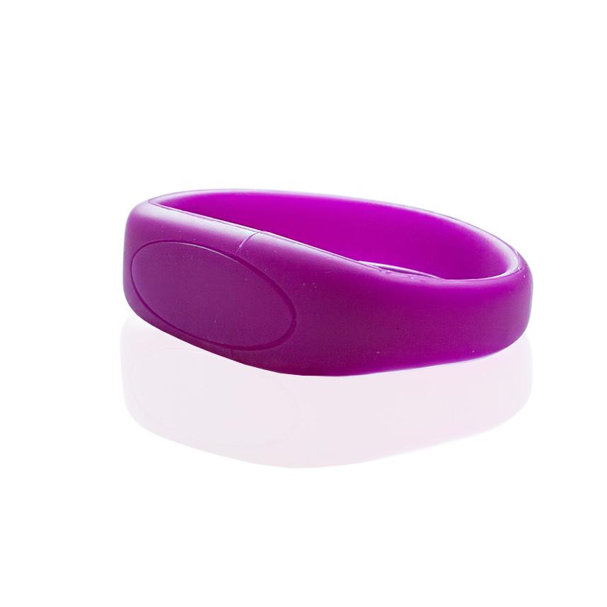 Флешка S002 (фиолетовый) с чипом 4 гб