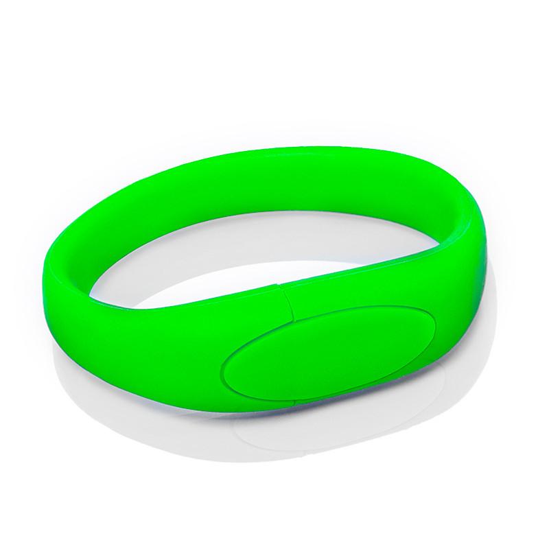 Флешка S002 (зеленый) с чипом 8 гб
