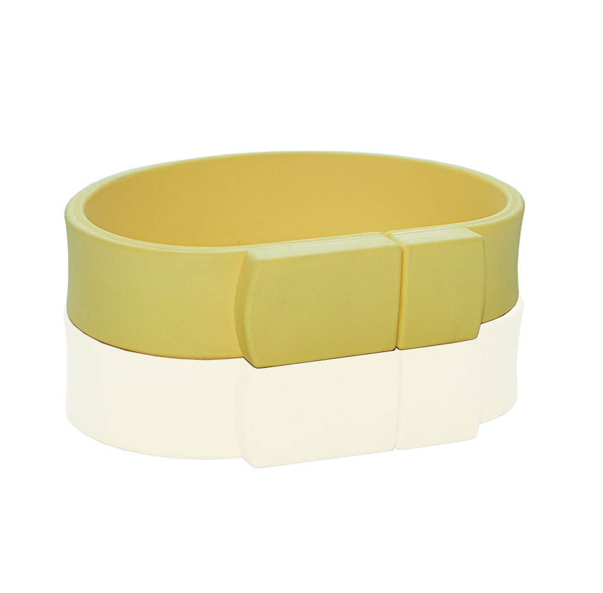 Флешка PVC002 (желтый 120 c) с чипом 32 гб
