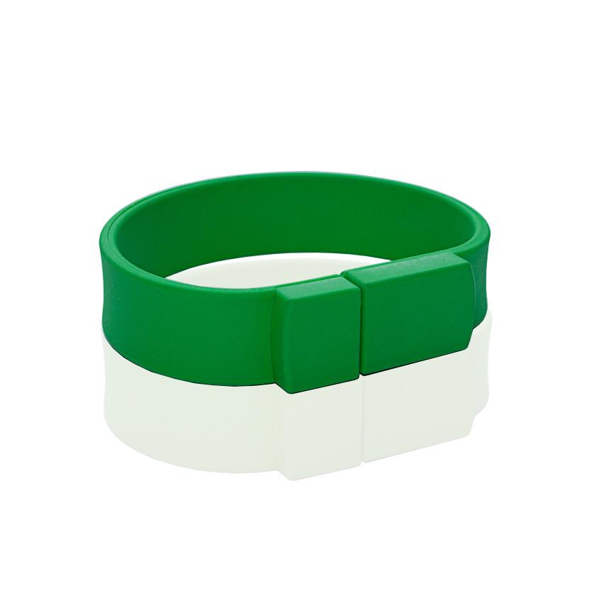 Флешка PVC002 (зеленый 7730 c) с чипом 64 гб