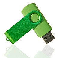 Флешка PVC003 (зеленый) с чипом 4 гб