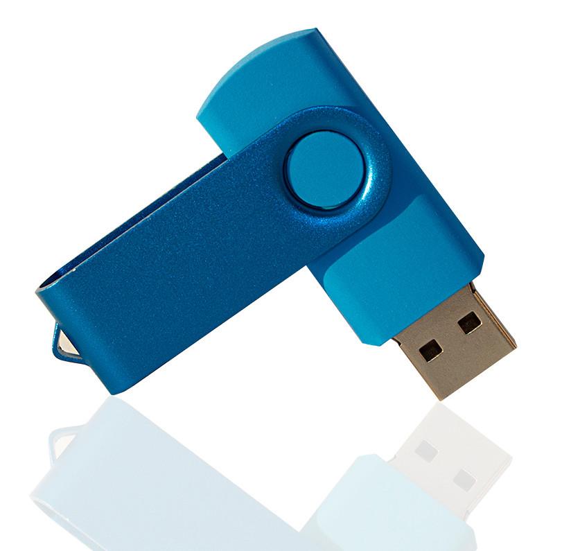 Флешка PVC003 (синий) с чипом 16 гб