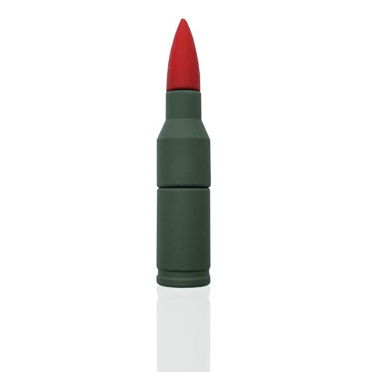 """Флешка PVC018 """"Пуля"""" (красный) с чипом 16 гб"""
