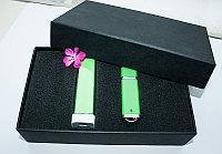Набор 4 (U-PK023, Z009, PL003) (черный, 119х195*45, зеленый на 2600 mah, зеленый с чипом 16 гб)