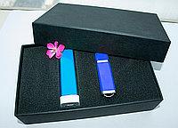 Набор 4 (U-PK023, Z009, PL003) (черный, 119х195*45, синий на 2600 mah, синий с чипом 4 гб)