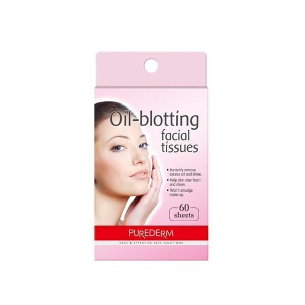 Салфетки матирующие Oil-Blotting Facial Tissues 60шт. (Purederm)