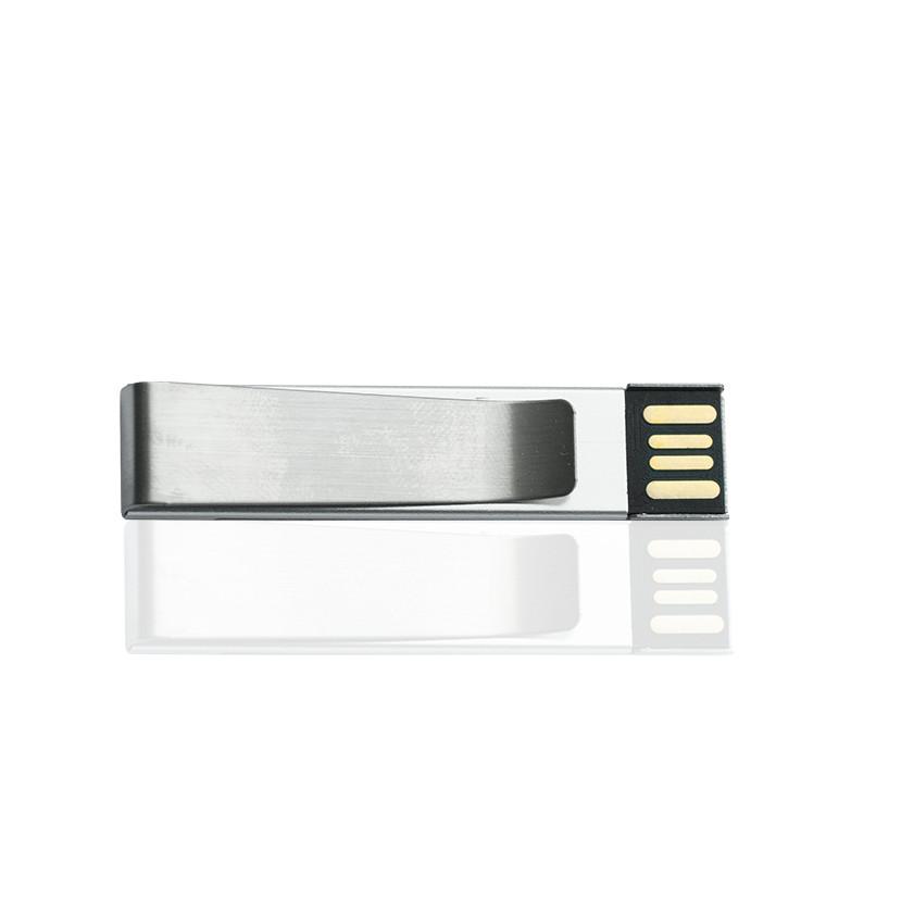Флешка ME010 удл (серебро) с чипом 32 гб