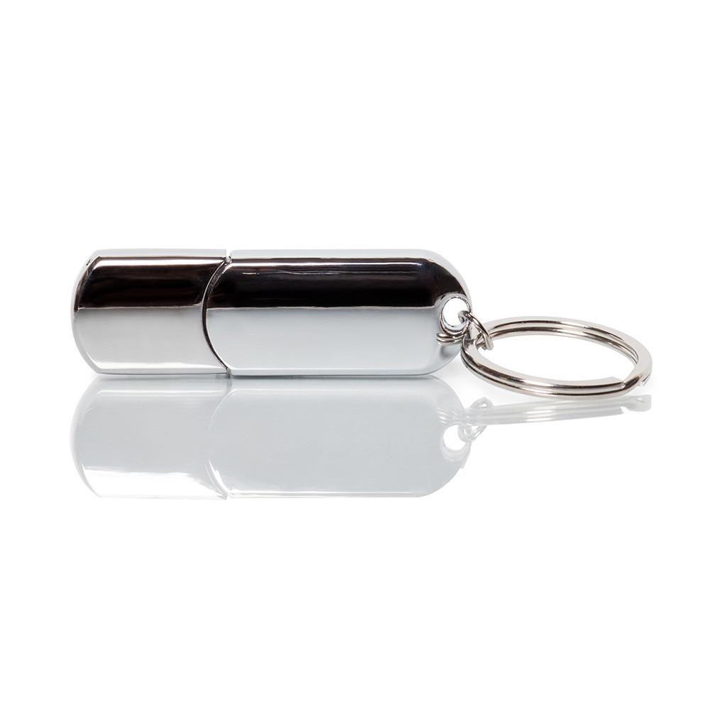 Флешка ME056 (серебро) с чипом 64 гб