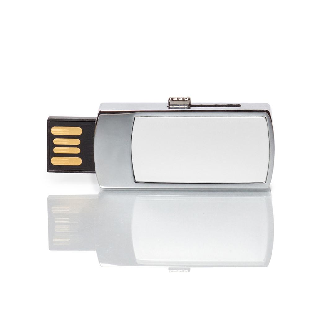 Флешка MN003 (белый) с чипом 4 гб