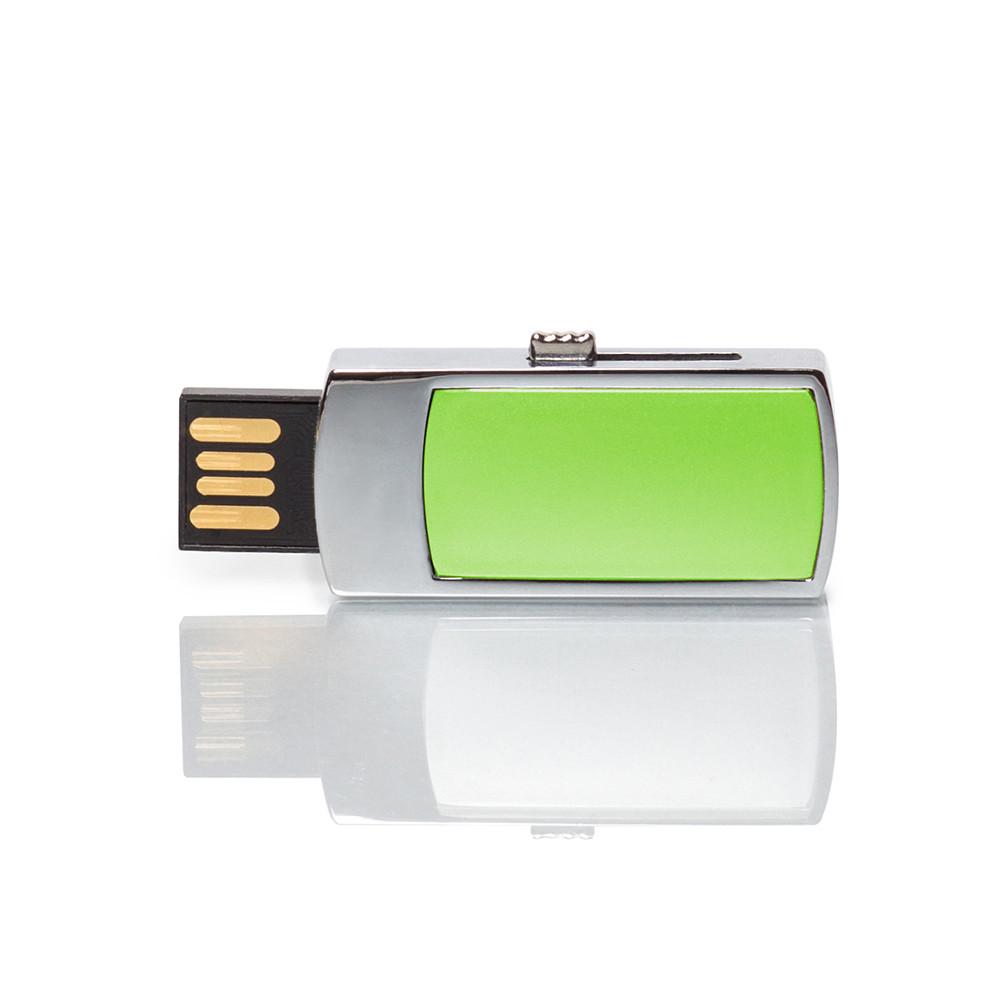 Флешка MN003 (салатовый) с чипом 4 гб