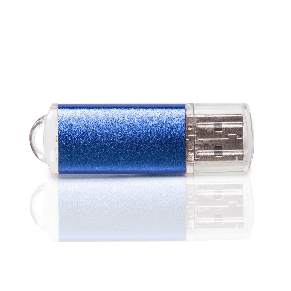Флешка PM006 (синий) с чипом 32 гб