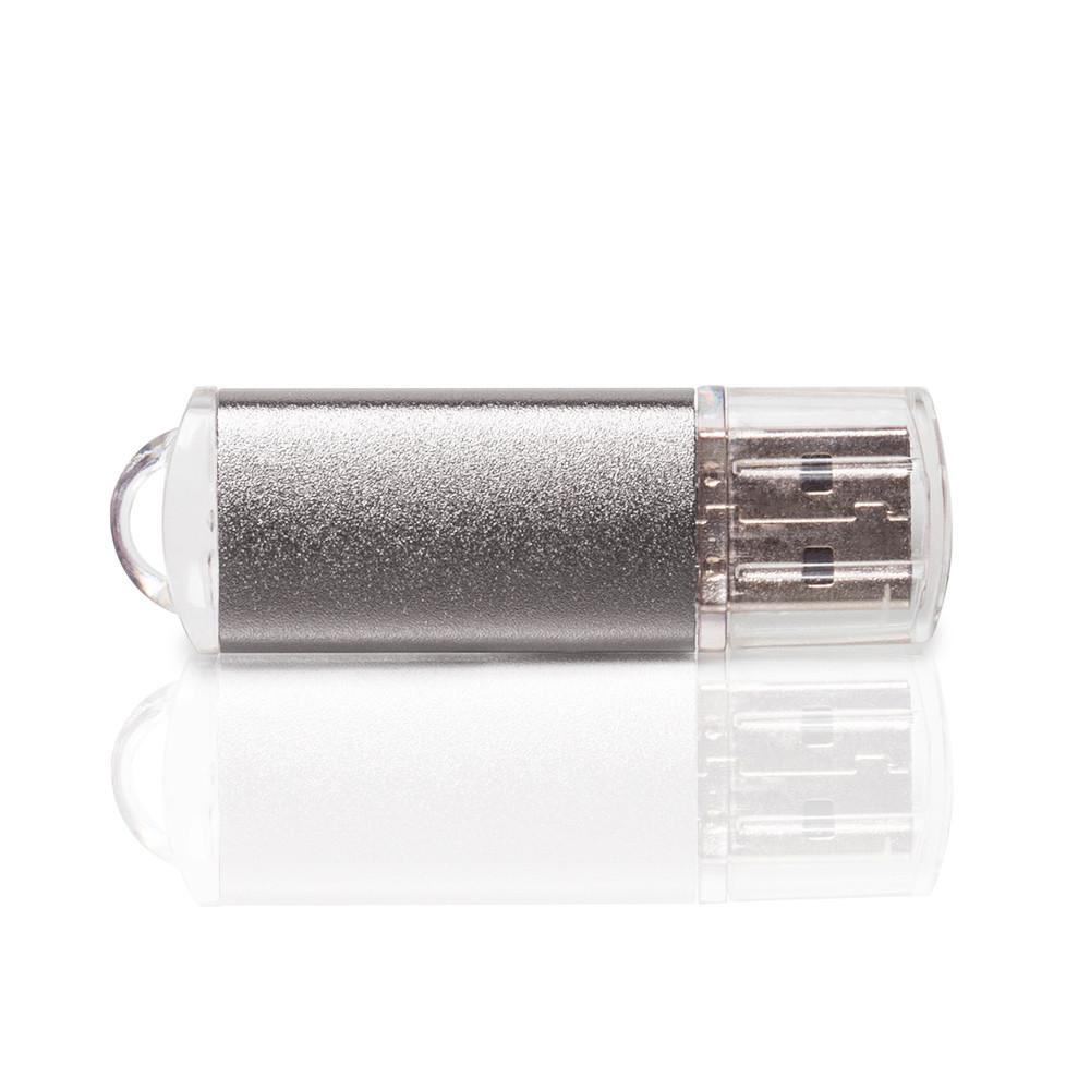 Флешка PM006 (серебро) с чипом 64 гб