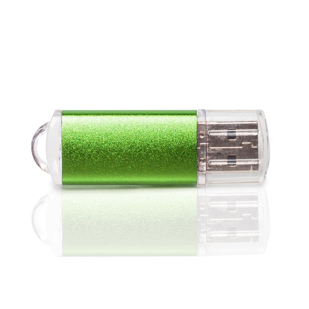 Флешка PM006 (зеленый) с чипом 32 гб