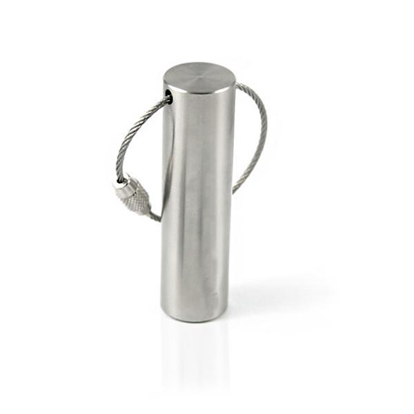 Флешка ME055 (серебро) с чипом 4 гб