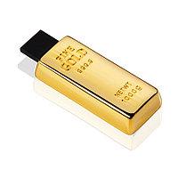 Флешка ME006 (золото) с чипом 8 гб
