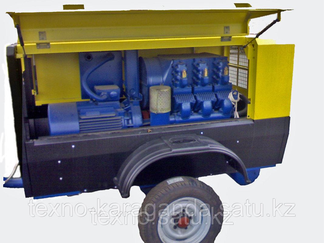 Воздушный компрессор ПКСД - 3,5 (поршневой) - фото 5