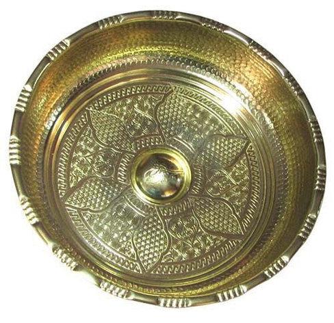 Чаша для  HAMAM металическая д 20 см., фото 2