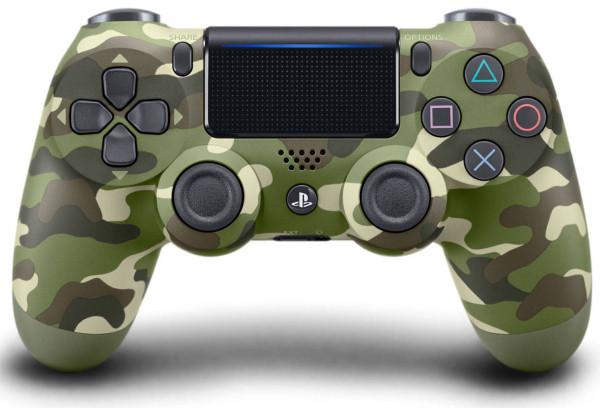 Геймпад SONY Dualshock 4 V2 Green Cammo