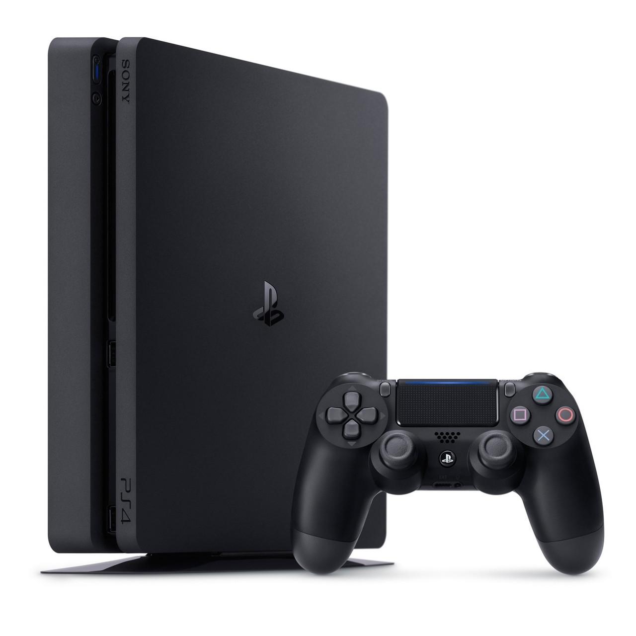 Игровая приставка Sony PlayStation 4 Slim 500 ГБ Black