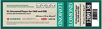 Бумага рулонная для плоттера офсетная 80г/м2, 594мм х 175м х 76мм L1209138 Стандарт InkJet paper