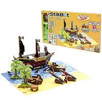 "Stikbot TST623P Стикбот набор ""Пиратский корабль"", фото 1"