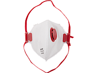 Фильтрующая полумаска плоская с клапаном выдоха, серия MASTER, STAYER