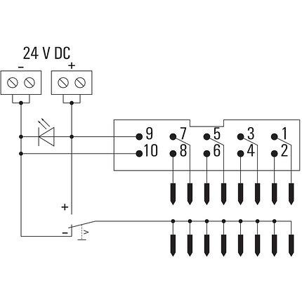 Адаптер для твердотельного реле TIA F10, фото 2