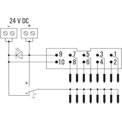 Адаптер для твердотельного реле TIAL F10, фото 2