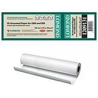Бумага рулонная для плоттера Офсетная, 80г/м2, 620мм х 175м х 76мм, A1+ L1209131 Стандарт InkJet paper