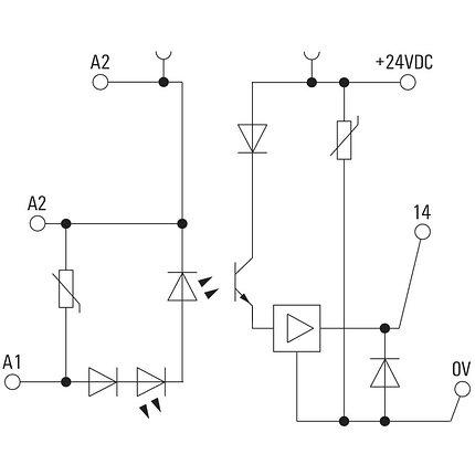 Твердотельные реле MOS 12-28VDC 100kHz, фото 2