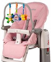 Чехол и дуга с игрушками на стульчик Peg Perego Tatamia Rosa Розовый, фото 1