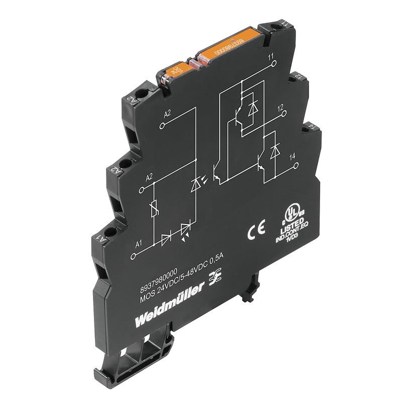 Твердотельные реле MOS 24VDC/5-48VDC 0,5A