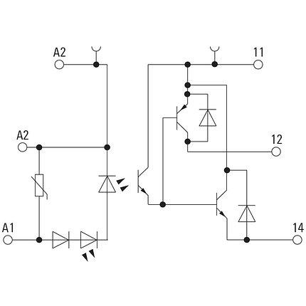 Твердотельные реле MOS 24VDC/5-48VDC 0,5A, фото 2
