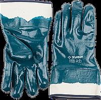 Перчатки рабочие, полное покрытие, размер L, серия «ПРОФЕССИОНАЛ», ЗУБР