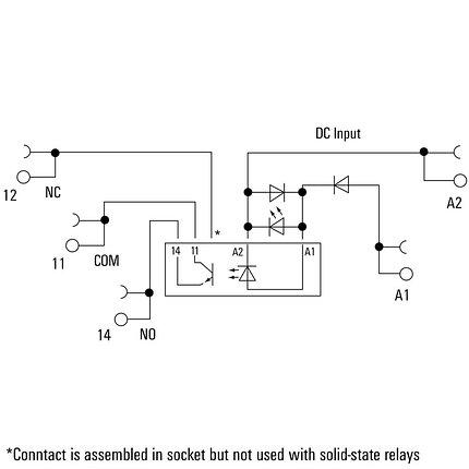 Твердотельные реле TOS 5VDC 48VDC0,1A, фото 2